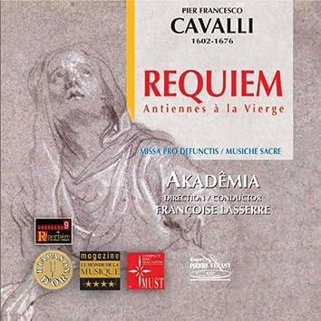 Cavalli: Requiem & Antiennes à la Vierge