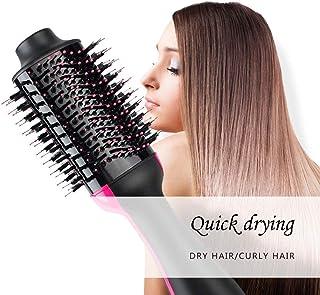 OULYO- ヘアドライヤーのブラシ、1つのステップ熱気のブラシ - 1に付き3ドライヤーのスタイリングおよびVolumizerの櫛の否定的なイオンの大広間のストレートヘアアイロンおよびカーラーの熱い髪の櫛の反焦げ付き防止