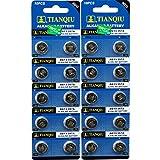Tian Qiu / Tian Tan Lr44 / Ag13 Button Cell Batteries - 50 Pack