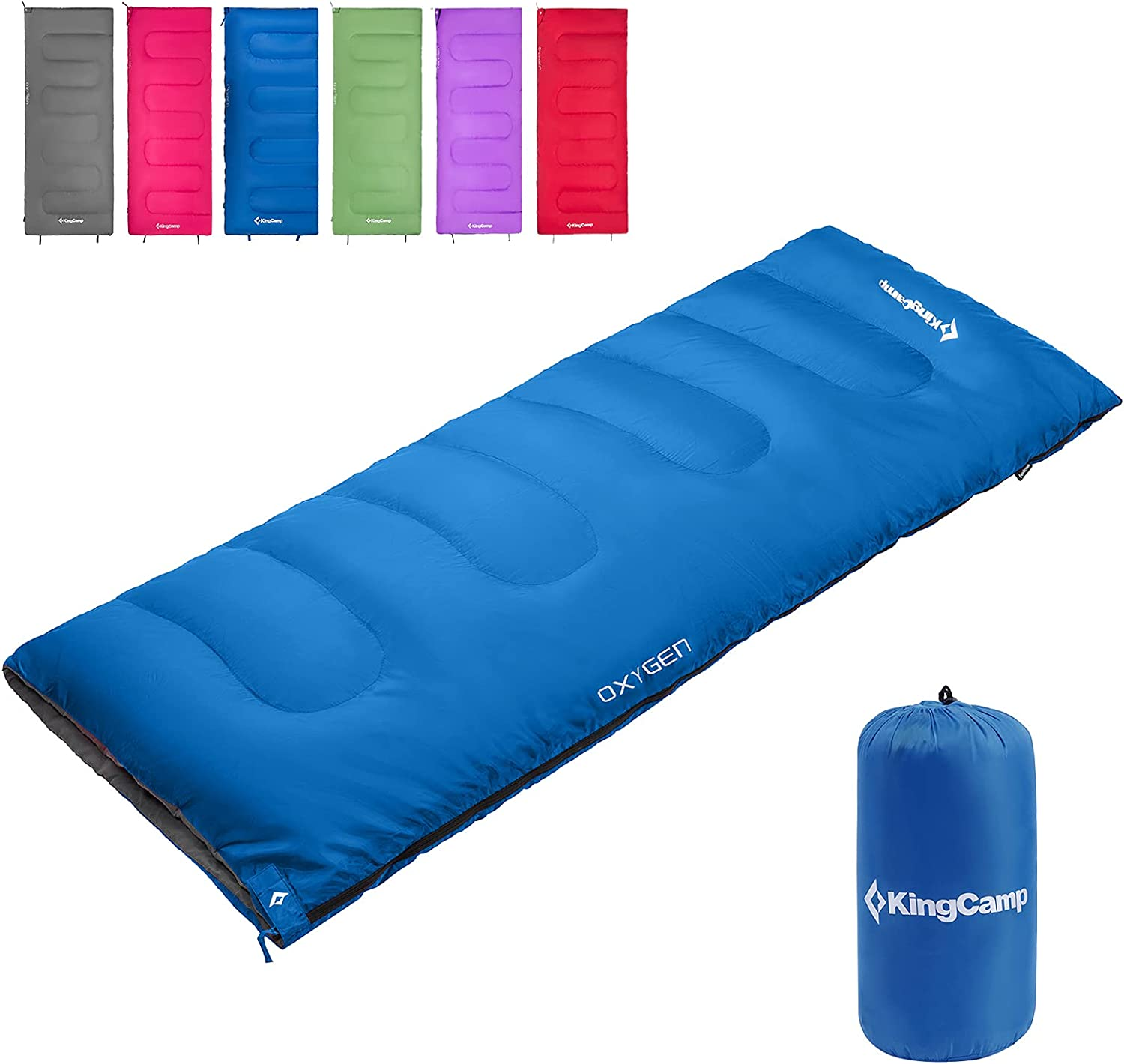KingCamp 3 Season Camping Rapid rise Sleeping National products Lightw Envelope Bags Joinable