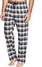 Hanes Men's 100% Cotton Flannel Plaid Pajama Pant