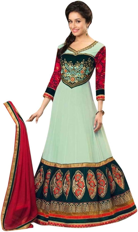 Ethnic Sale offer Diwali Anarkali Salwar Kameez Indian Pakistani Muslim Festive Women Apparel 7195 6
