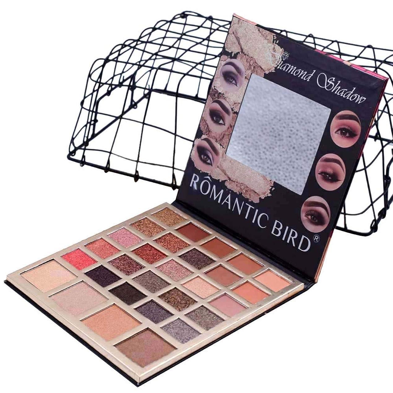 直径インフラ採用するAkane アイシャドウパレット ファッション ROMATIC BIRD 人気 魅力的 綺麗 キラキラ 防水 長持ち マット おしゃれ チャーム 落としにくい 持ち便利 Eye Shadow (29色) 8007