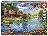 Educa Series. Casita en el Lago. Puzzle de 5000 Piezas. Ref. (19056)