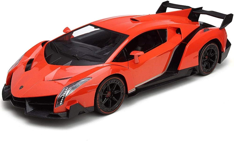 Ycco Lamborghini Fernbedienung Auto Fernbedienung RC Auto-Lamborghini Veneno Radio Fahrzeug Sport Racing Hobby Grade Lizenzmodell 1 24 Skala für Kinder Erwachsene (rot) ing RC, Rot B07PK93YFD Bekannt für seine schöne Qualität    New Style
