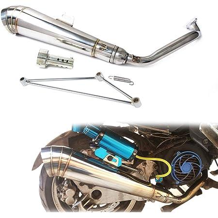 Tubo De Escape Para Ciclomotor 50 Cc 1e40qmb 1pe40qmb Ex22 Automotive