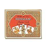 Piatnik 2134 - Kartenspiel 'Golden Russisch', 2 x 55 Blatt