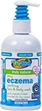 TruKid Eczema Soothing Face and Body Wash - Gently Cleanses and Moisturizes Sensitive Skin, Unscented, 8 oz