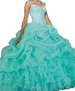 ball gowns turquoise
