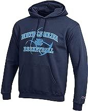 Champion North Carolina Tar Heels Navy Basketball Powerblend Screened Hoodie Sweatshirt