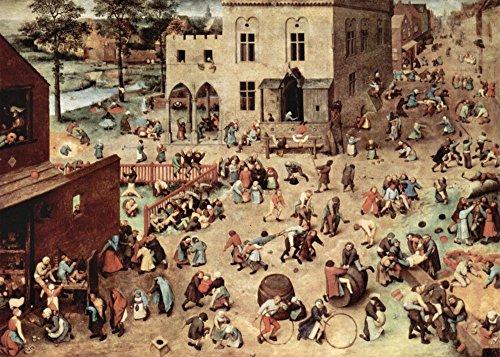 Das Museum Outlet–Kinderspiel von Pieter Bruegel–Poster Print Online kaufen (101,6x 127cm)