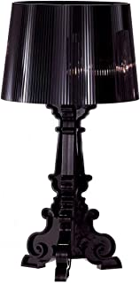 Kartell Bourgie Table Lamp by Ferruccio Laviani in All Black