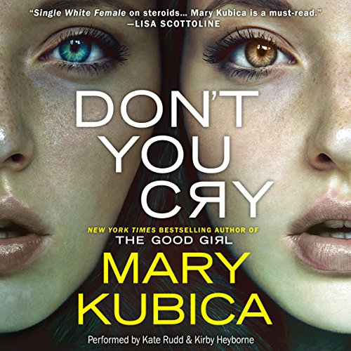Don't You Cry audiobook cover art