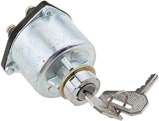 Gazechimp Universal Ersatz Zündschlosszylinder Mit 2 Schlüsseln Für Traktoren