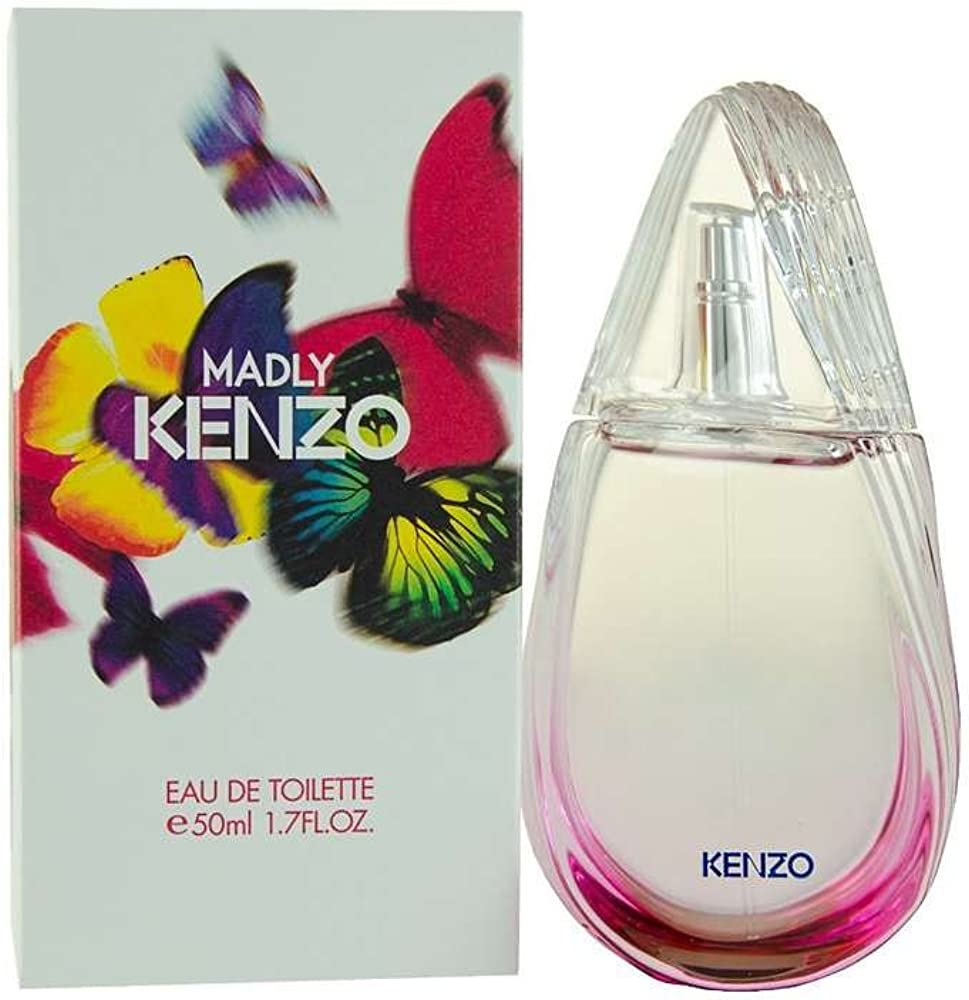 Kenzo madly, eau de toilette con vaporizzatore, 50 ml 10001213
