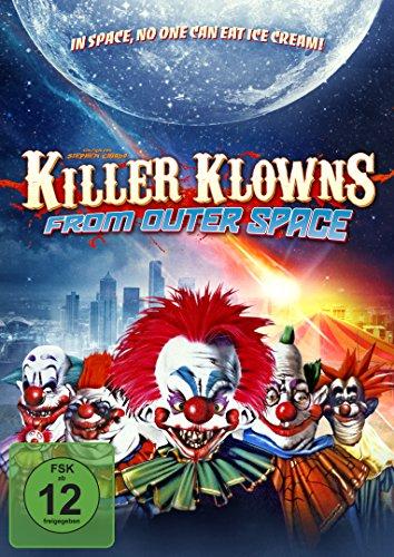 Killer Klowns - From outer Space - Mediabook  (+ DVD) (+ Bonus-DVD) [Blu-ray]