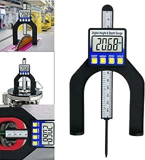 Liukouu 0-80mm Digital Precision Height Aperture Depth Gauge Caliper Measuring Tool