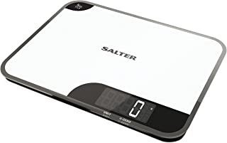 Salter Mini-Max Kitchen Scales, Small + Practical, Measure Food / Ingredients Weight, Weigh up to 5kg, Metric + Imperial, ...