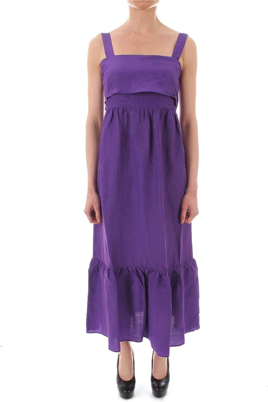 Emme Marella Women's 52212094PURPLE Purple Viscose Dress