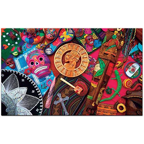 Culturas do Mundo - México - Quebra cabeça 2.000 peças