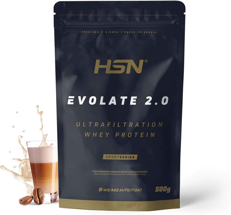 Aislado de Proteína de Suero de HSN Evolate 2.0 | Whey Protein Isolate | Proteína CFM + Enzimas Digestivas (Digezyme) + Ganar Masa Muscular | ...