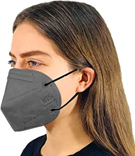 M95i Disposable 5-Layer Efficiency Protective Adult Face Mask 5-Ply Design Made in USA 5 Units