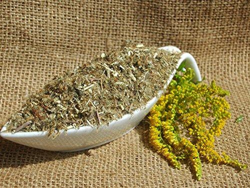 Naturix24 – Goldrutentee, Goldrutenkraut geschnitten – 500 g Beutel