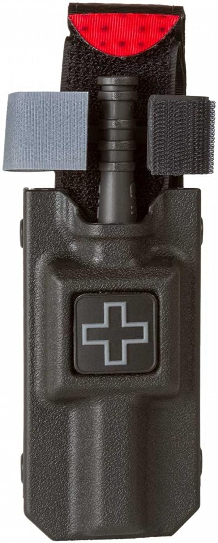 North American Rescue Rigid Gen 7 Combat Application Tourniquet CAT Case,Blade Tech TekLok Belt Attachement, Black Finish