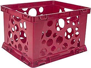 """Mini Crate 9""""X7.75""""X6""""-Red"""