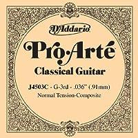 D'Addario ダダリオ クラシックギター用バラ弦 プロアルテ G-3rd J4503C Composites 【国内正規品】