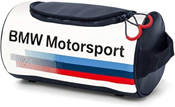 BMW Motorsport Wash Bag White
