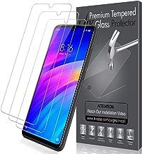 LK Protector de Pantalla para Xiaomi Redmi 7, [3 Pack] Vidrio Templado Screen Protector [Garantía Vitalicia De Sustitución]