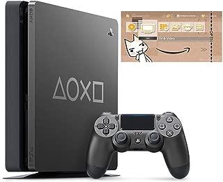 PlayStation 4 Days of Play Limited Edition 1TB (CUH-2200BBZR) 【特典】オリジナルカスタムテーマ 配信