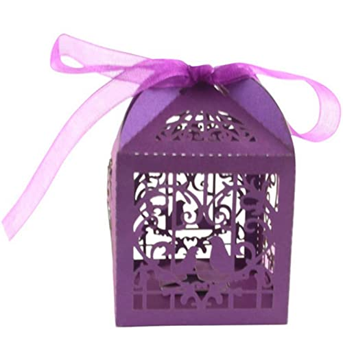 New Lilac Favours Lantern Boxes //50