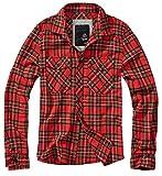 Brandit Comprobado Camiseta de Hombre Franela Camisa - Tartán, S