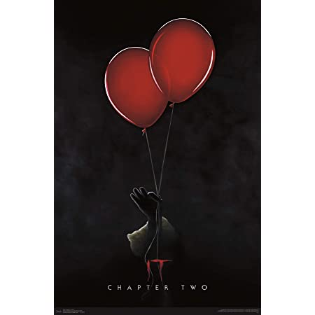 IT Movie Penny Wise Stephen King Horror 2017 Canvas Silk Poster 13x18 24x32/'/'