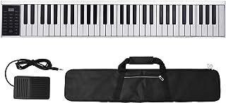 Lixada 61 Keys Digital Electronic Piano Keyboard MIDI Output 128 Tones 128 Rhythms 14 Demo Songs Recording Programming Pla...