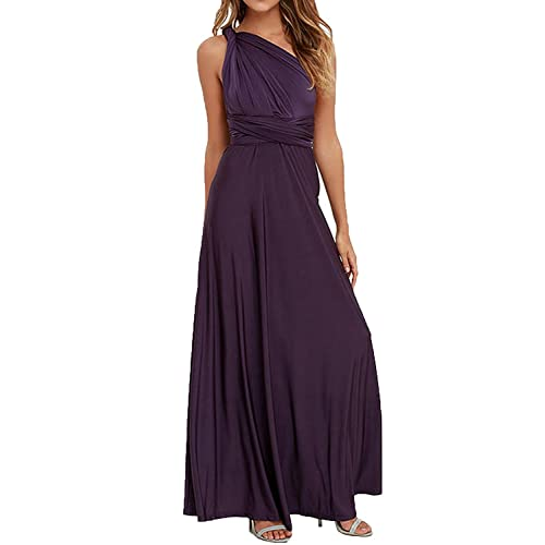 9cfb472b28a CHOiES record your inspired fashion Women s Infinity Gown Dress Multi-Way  Strap Wrap Convertible Maxi