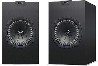 KEF Bookshelf Speaker (Q150, Speaker Pair, Black)