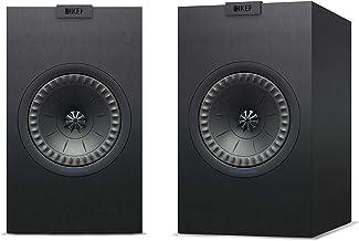 KEF Q150B Q150 Bookshelf Speakers (Pair, Black)