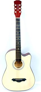38 inch MIKE MUSIC Acoustic Guitar with Bag and Strap (natural)