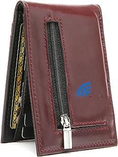$29 » Smart Bluetooth GPS Location Record Mens Wallet Finder Money Clip Wallets Tracker (Red)