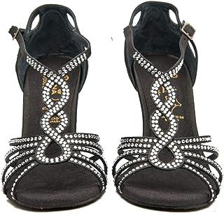 Zapatos de Baile Latino Mujer Salsa Flex 4 Black - Bailar Bachata, Salsa, Kizomba