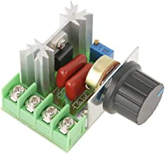 AC 50-220V 2000W 25A AC Motor Speed Controller Voltage Regulator LED Dimmers Home Appliance Motor Speed Control