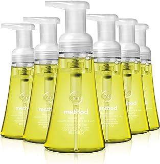 Method Foaming Hand Soap, Lemon Mint, 10 Fl Oz (Pack of 6)