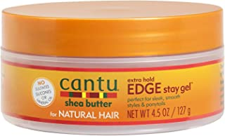 Cantu Natural Hair Edge Stay Gel, Extra Hold 4.5 Oz