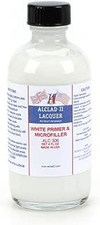Alclad II Lacquers White Primer & Microfiller 4oz, ALC306