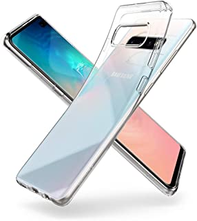 Spigen Liquid Crystal (Air) Designed for Samsung Galaxy S10 Plus Case (2019) - Crystal Clear