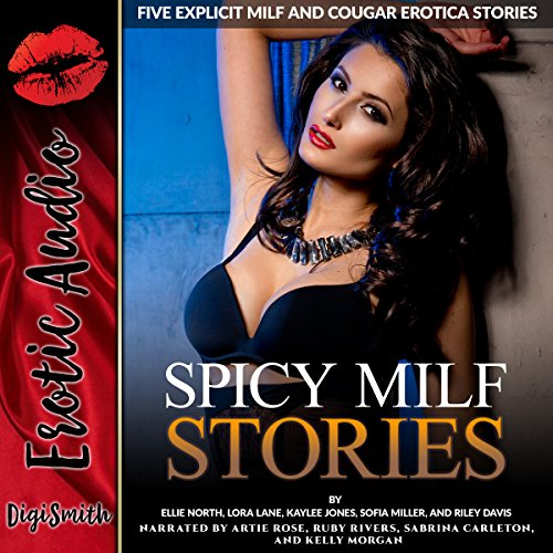 Spicy MILF Stories audiobook cover art