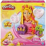 Play-Doh - A1056E240 - Loisir Créatif - Tête à Coiffer Raiponce